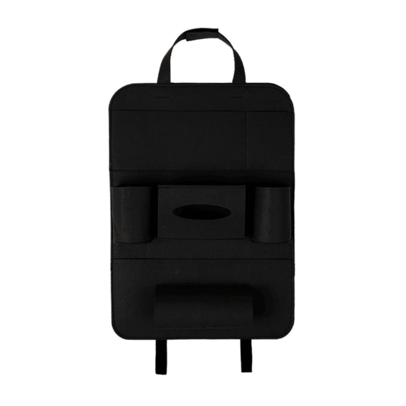 Auto Car Backseat Organizer Car-Styling Holder Multi-Pocket Seat Wool Felt Storage Multifunction Vehicle Accessories Bag