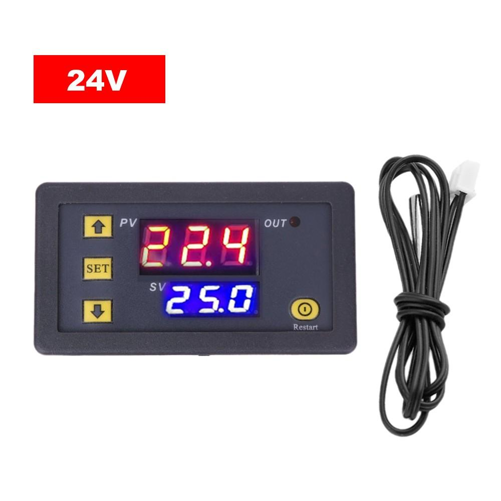 3230 Temperature Controller Digital Display Thermostat Module Temperature Control Switch Micro Heating Cooling Temperature Control Panel