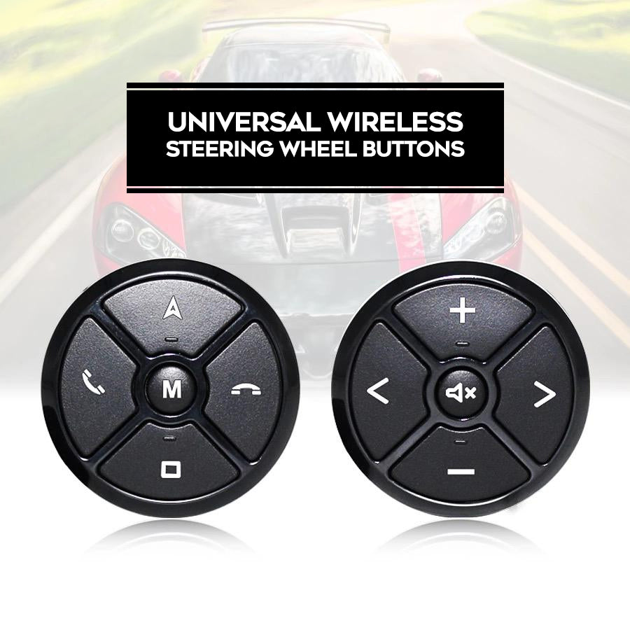 Universal Wireless Steering Wheel Buttons