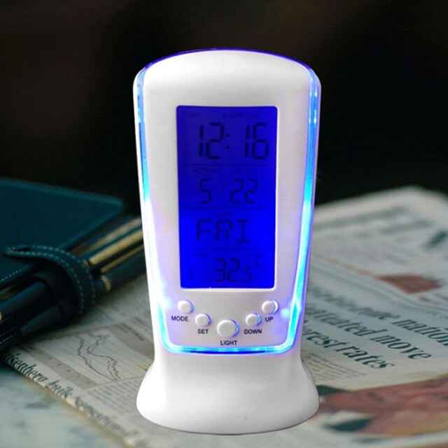 LED Multi-Function Clock