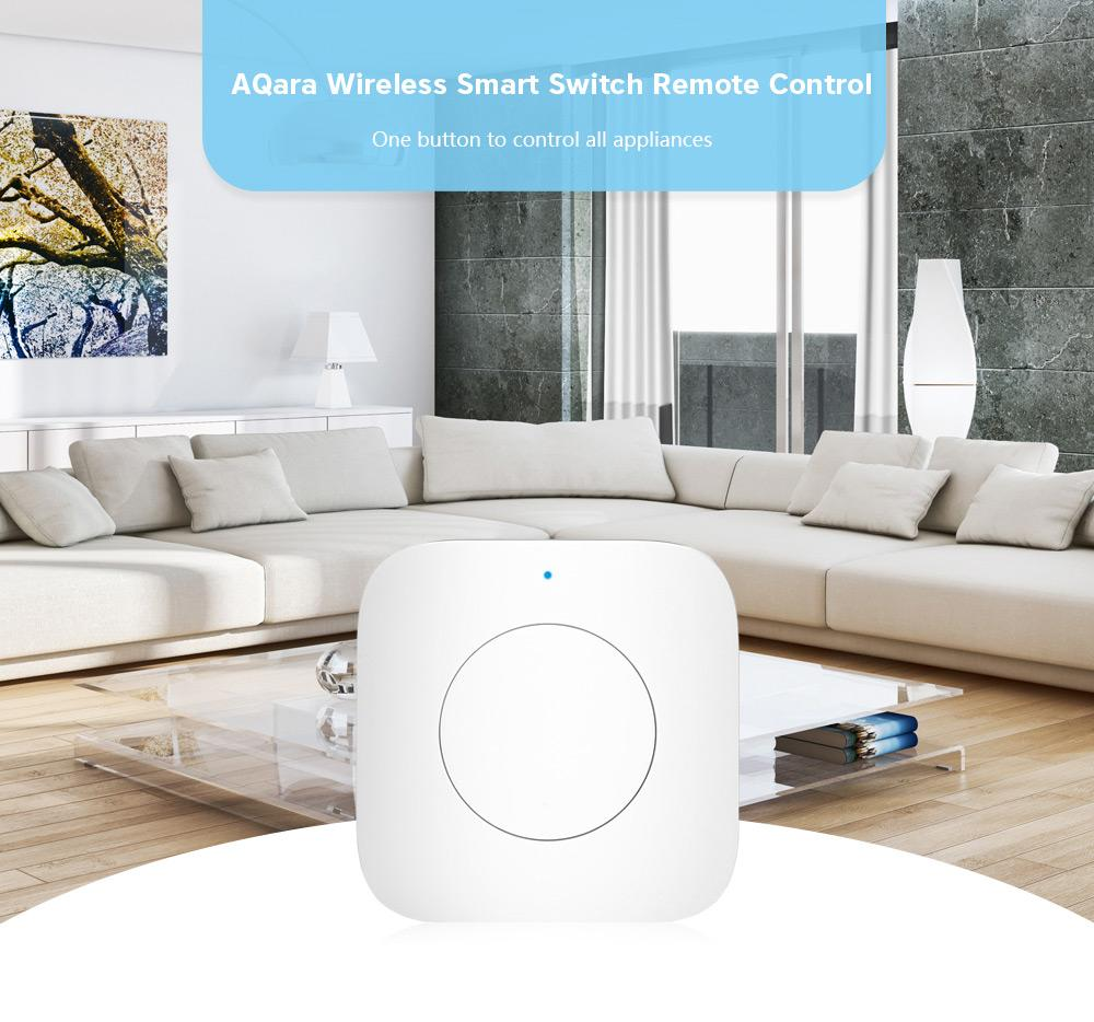 Aqara WXKG12LM Wireless Smart Switch APP Remote Control / Doorbell ( Xiaomi Ecosystem Product )