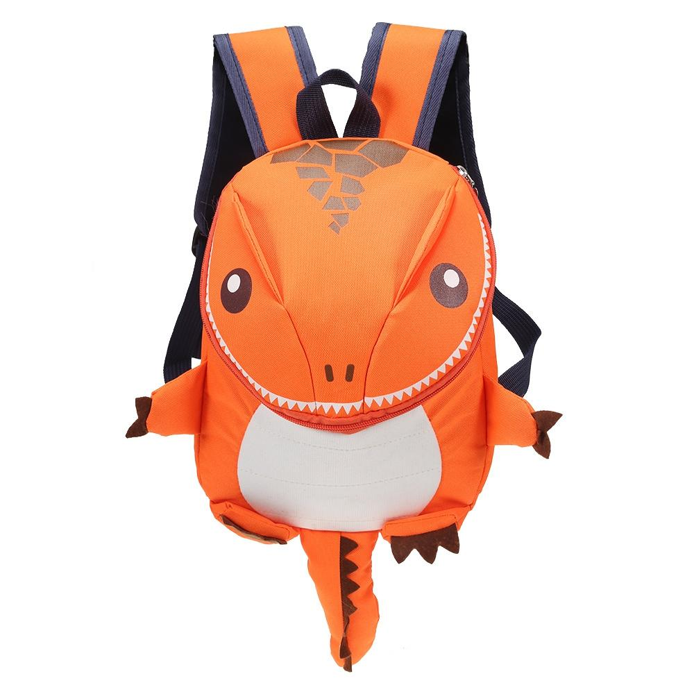Cartoon Dinosaur Backpack Children Kindergarten School Bag