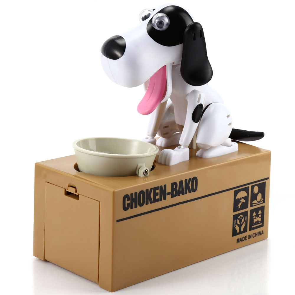 Hungry Dog Piggy Bank
