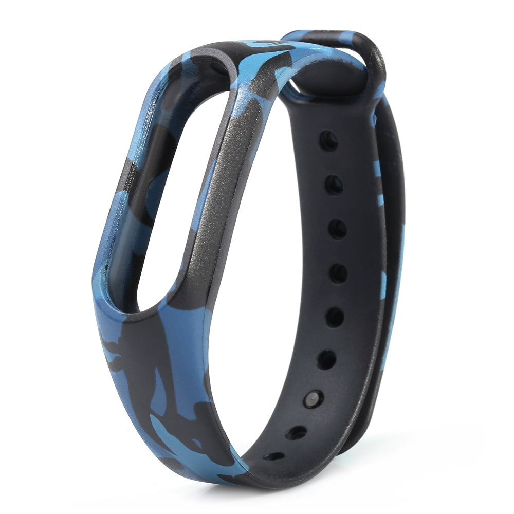 Fashion Camouflage Pattern Watch Strap for Xiaomi Mi Band 2