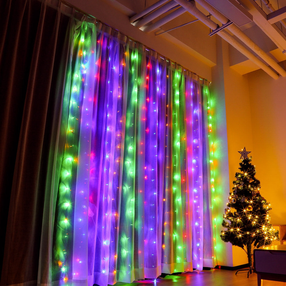 LED Curtain Strings