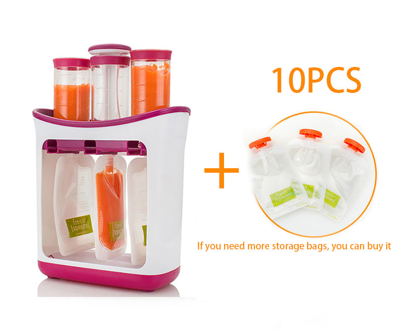 Home Kitchen Disposer Auxiliary Production Manual Baby Auxiliary Storage Bags Auxiliary Eater