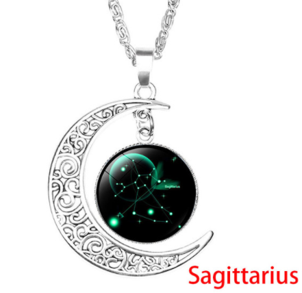 Constellations Moon Pendant