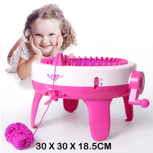 DIY Toy Knitting Machine