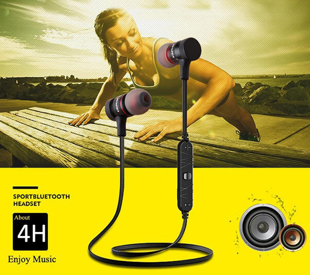 Awei A920BL Earphone Sport Bluetooth V4.1 Connection with Voice Noise Reduction