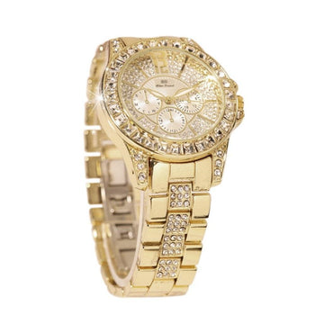 Lady Student Fashion Exquisite Wristwatch Women Elegant Water-Resistant Watch