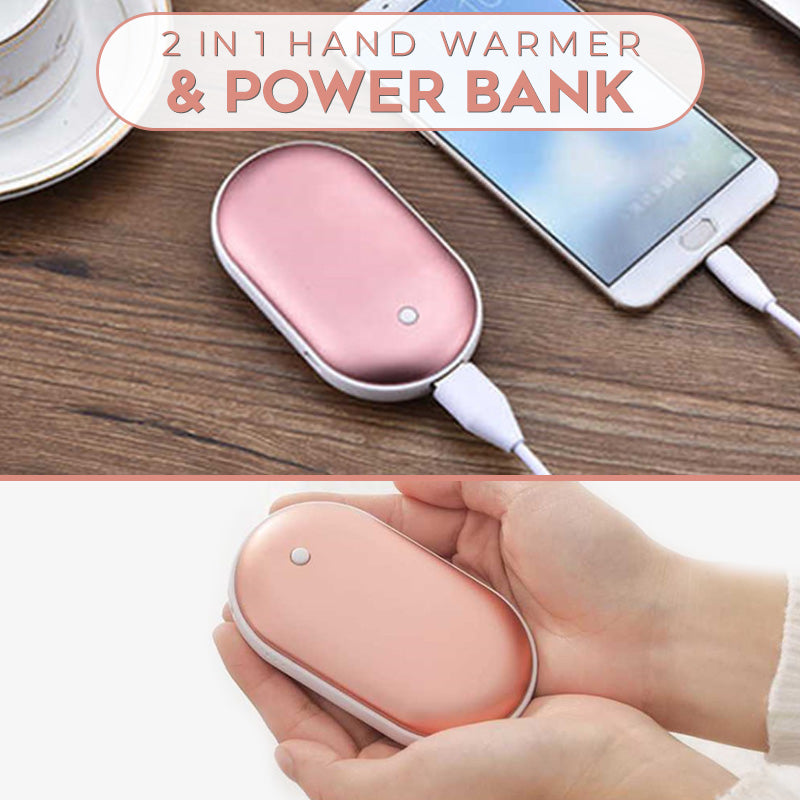 2 In 1 Hand Warmer and Power Bank