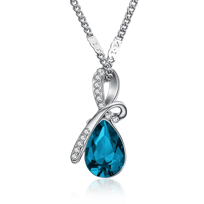 Drop Crystal Necklace
