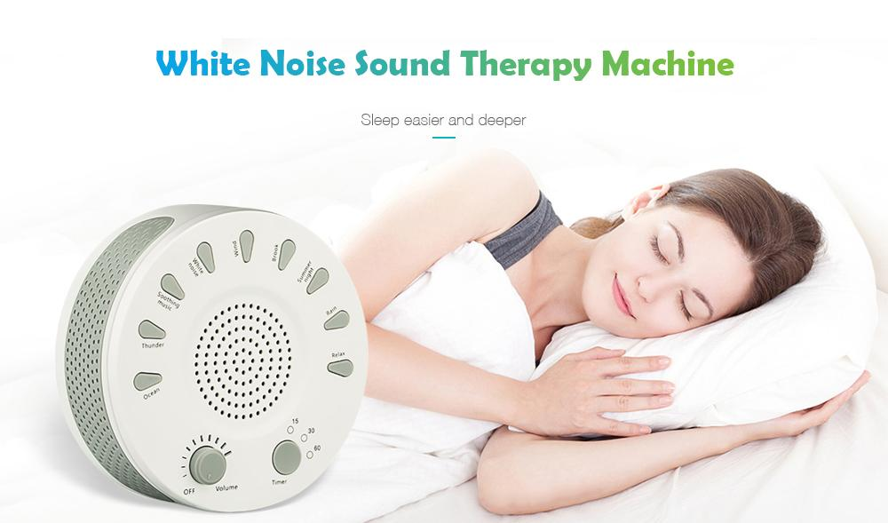 White Noise Sound Therapy Machine 9-sound Sleep Device