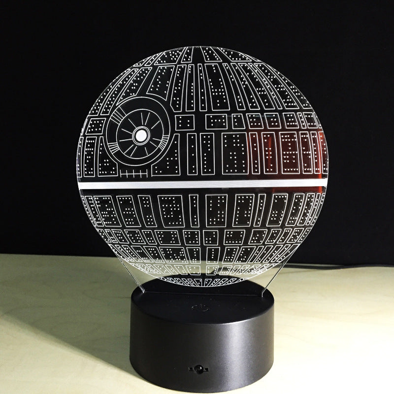 Star Wars 3D LED Death Star Lamp