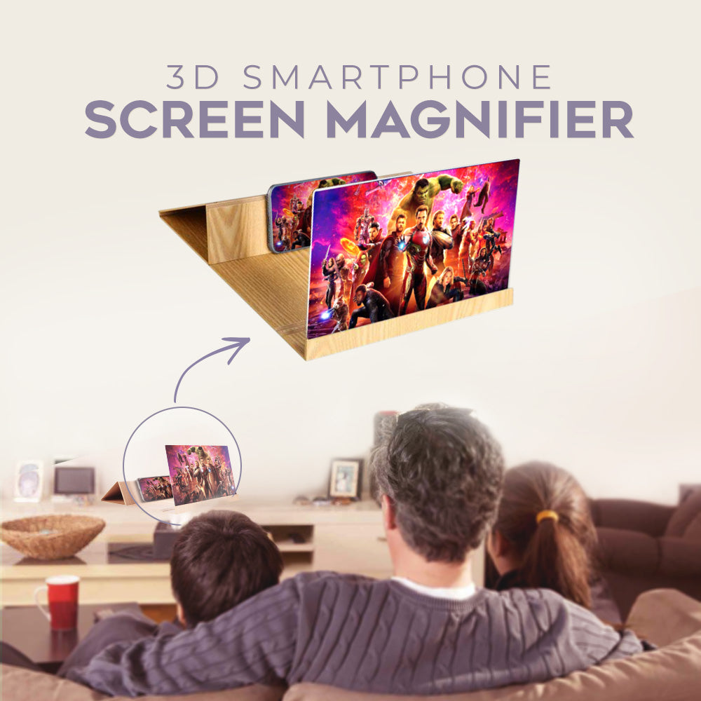 Personal Cinema Phone Magnifier