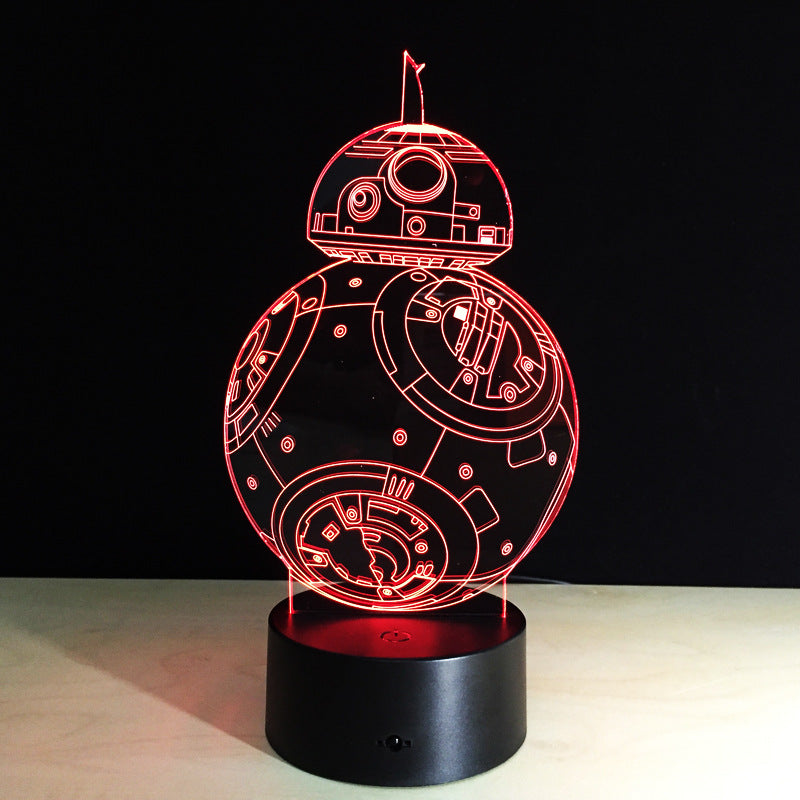 Star Wars 3D LED Droid Lamp