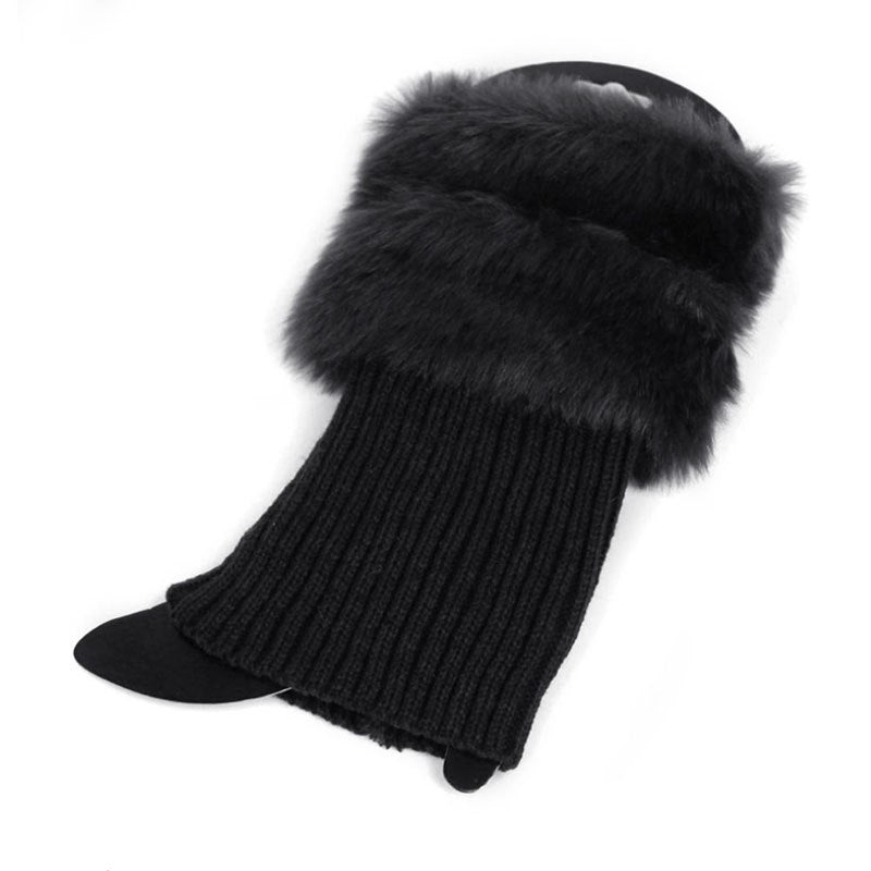 Winter Fur Socks
