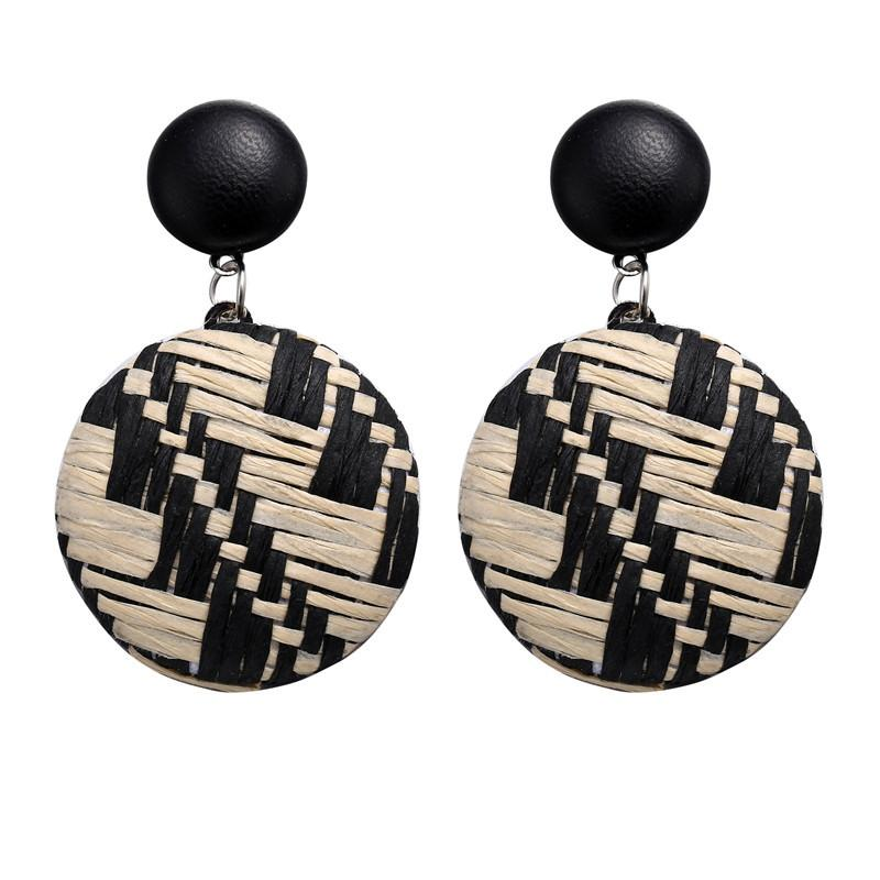 Weave Dangle Earrings