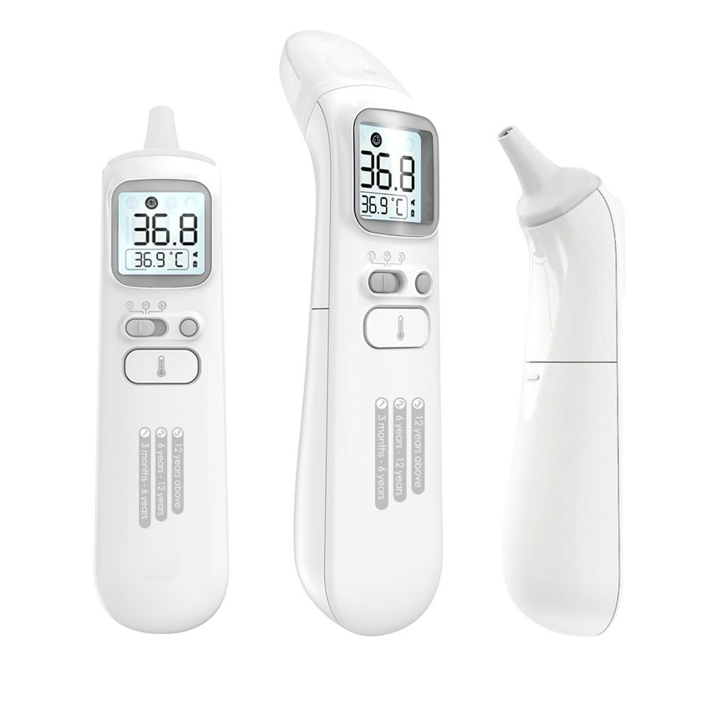 LED Intelligent Body Thermometer ℃/℉ Transformable Measure Infrared Digital Thermometer