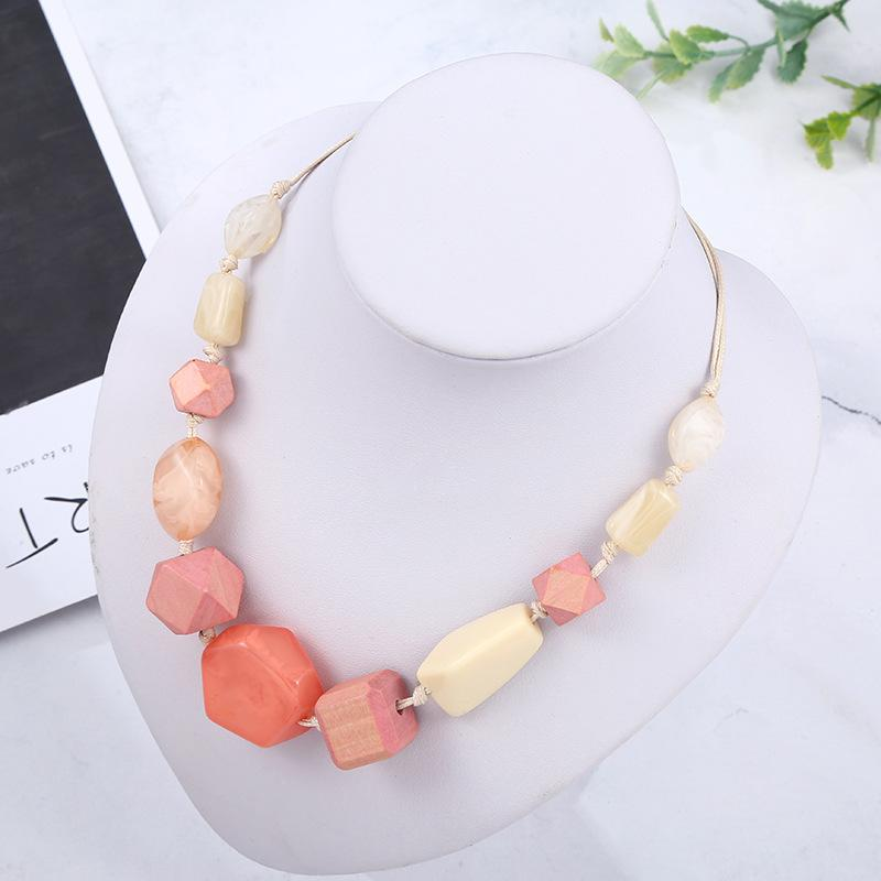 Irregular Bead Necklace