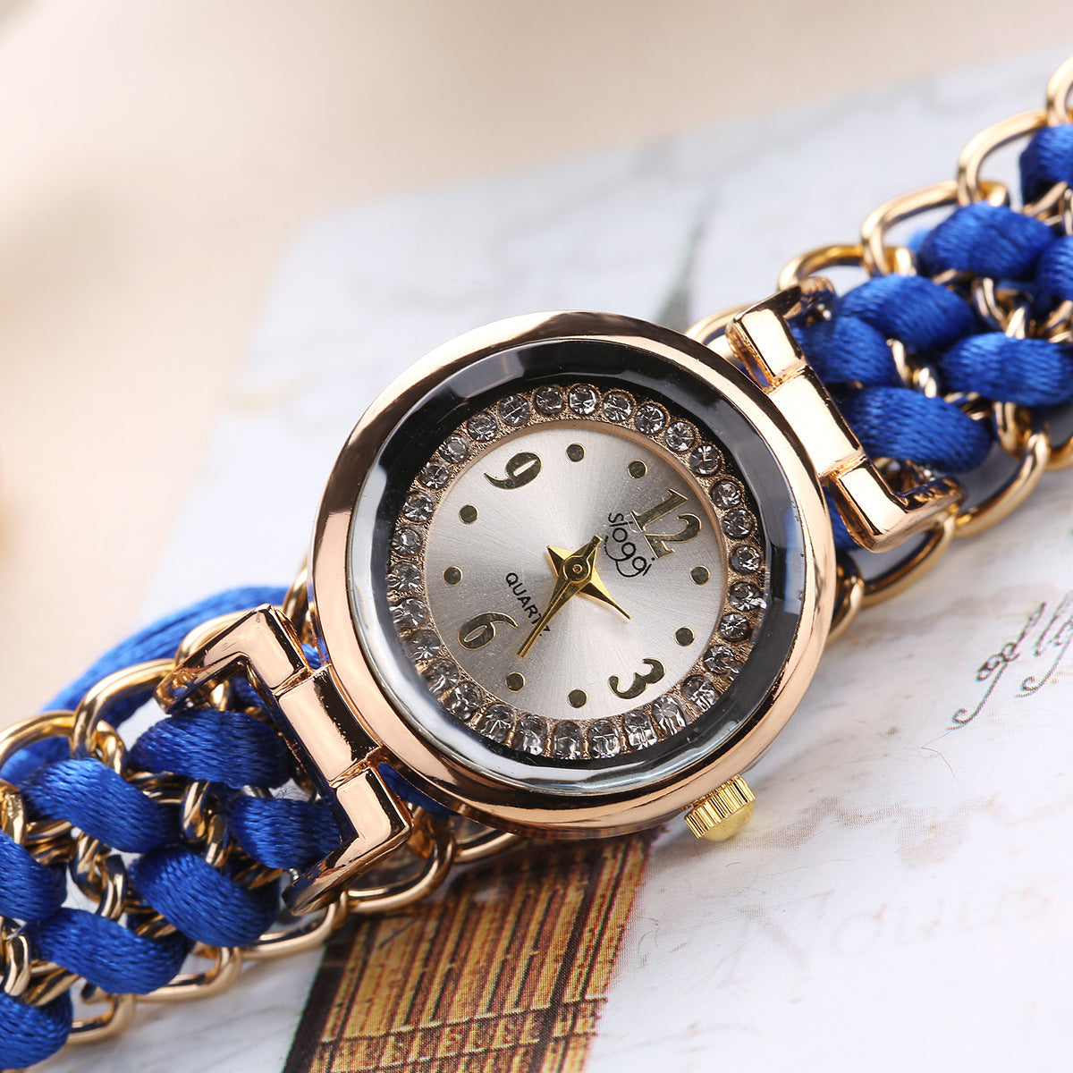 Knitting Chain Watch