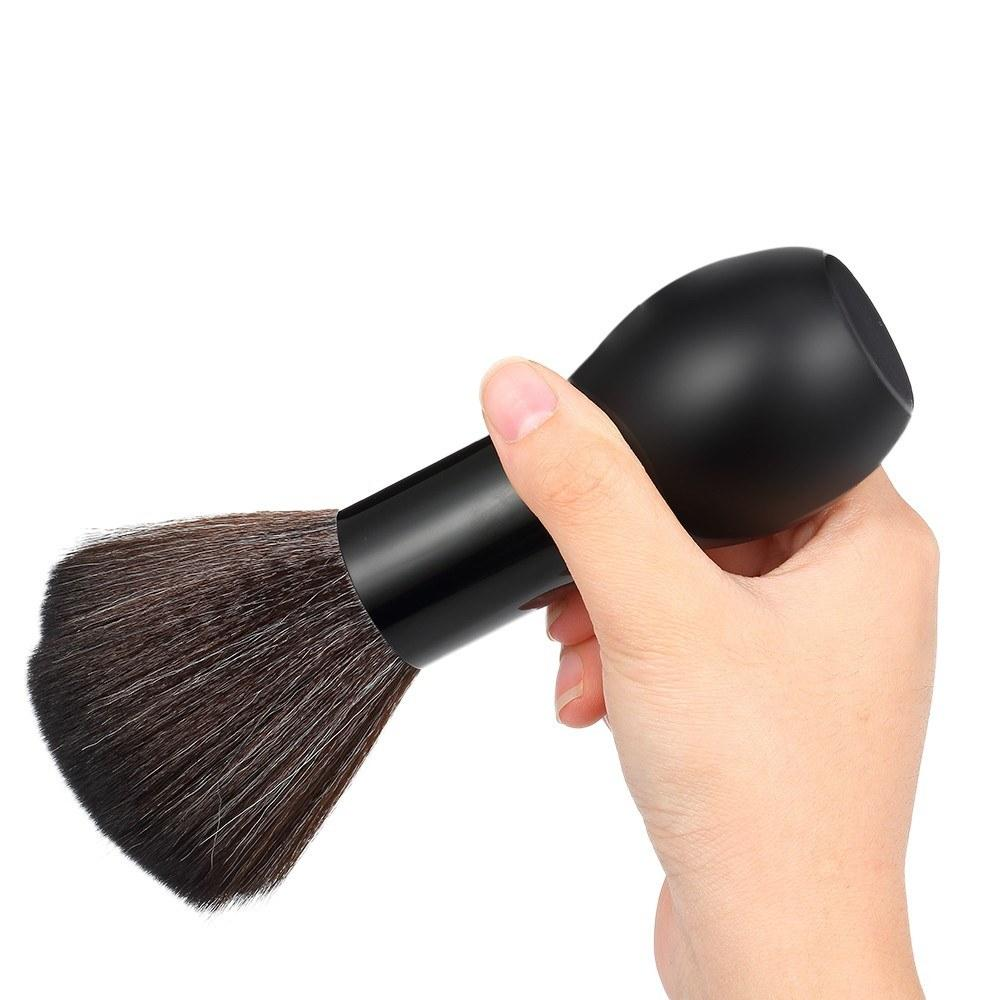 Barber Neck Face Duster Brush Cleaning Hairbrush Hair Sweep Brush Salon Haircutting Tool Ultra Soft Nylon Hair