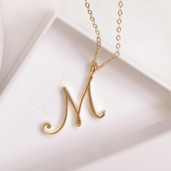 Words love necklace