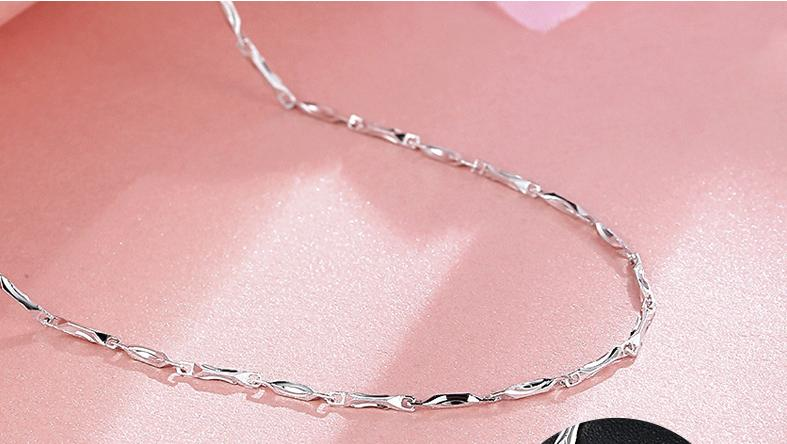 S925 sterling silver necklace