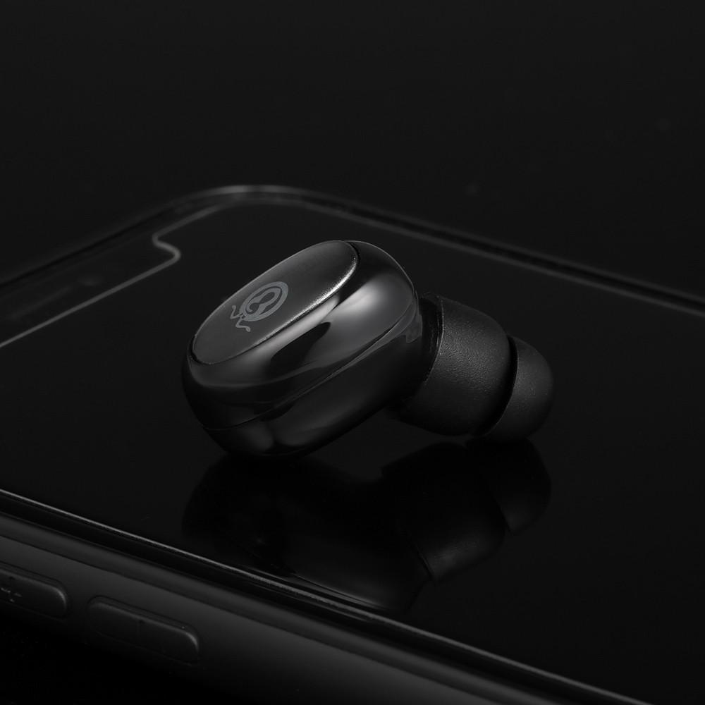 Wireless Bluetooth Headphones In-ear Headset Bluetooth 4.1 Sport Earphones Power Bank Mini Earbuds with 1200mAh Charging Box