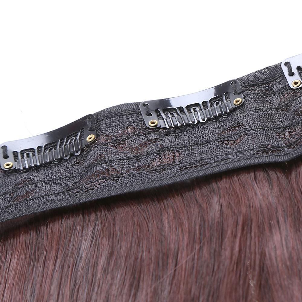 5 Clips Scroll Roll Thickening Long Curly Silk Hair Piece High Temperature Fiber