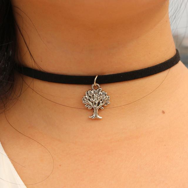 Tree of Life Choker Necklace