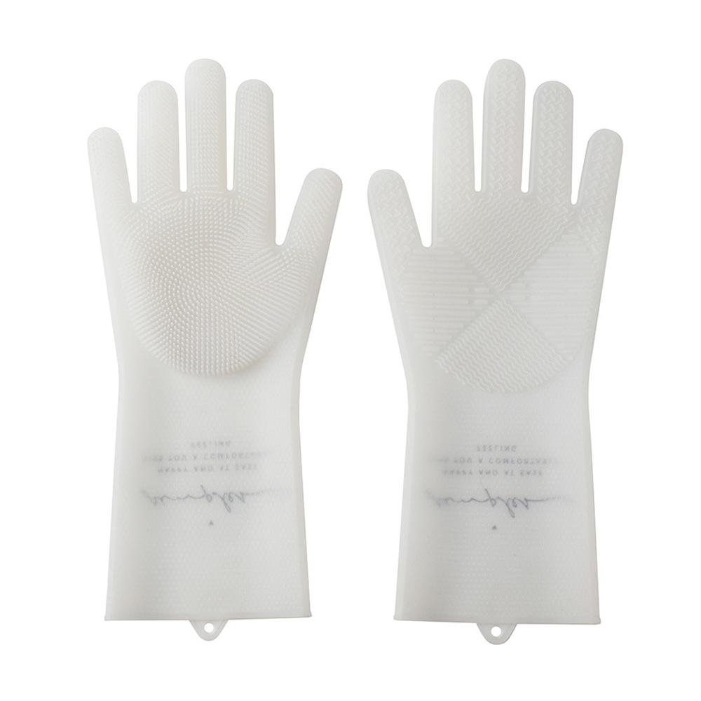 Latex Gloves for Washing Dishes Intensive Brush Head Nordic Pattern