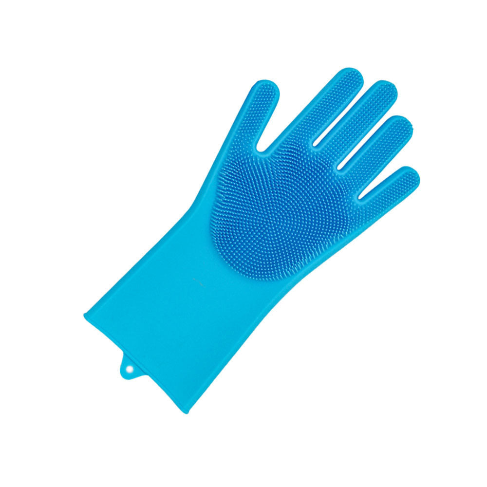 Brush Scrubber Gloves