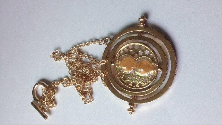 New Harry Potter Time Time Converter Hourglass Necklace
