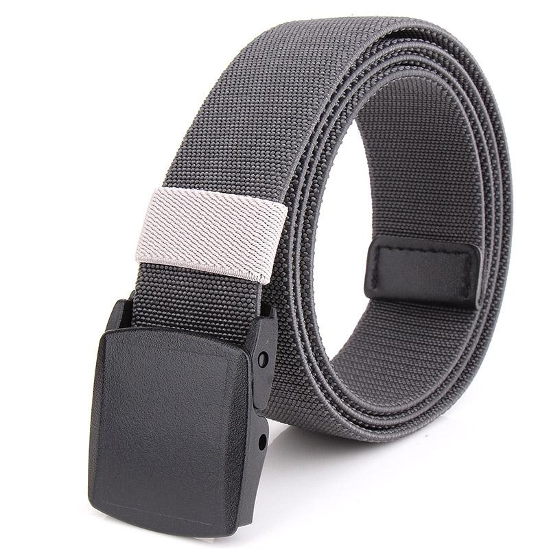 Korean Style Nylon Casual Weaving Belt Adjustable Stretch Breathable Durable Elastic Belt