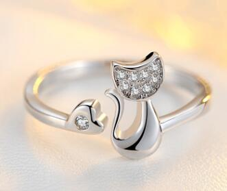 Prime And Classy Cat Ring Collection