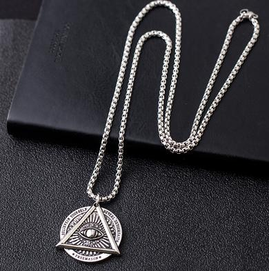 Hiphop pendant titanium steel chain pendant for men and women