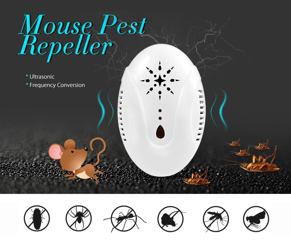 Electronic Ultrasonic Mouse Pest Repeller Plug-in Type Repellent to Mouse Cockroach Mosquito