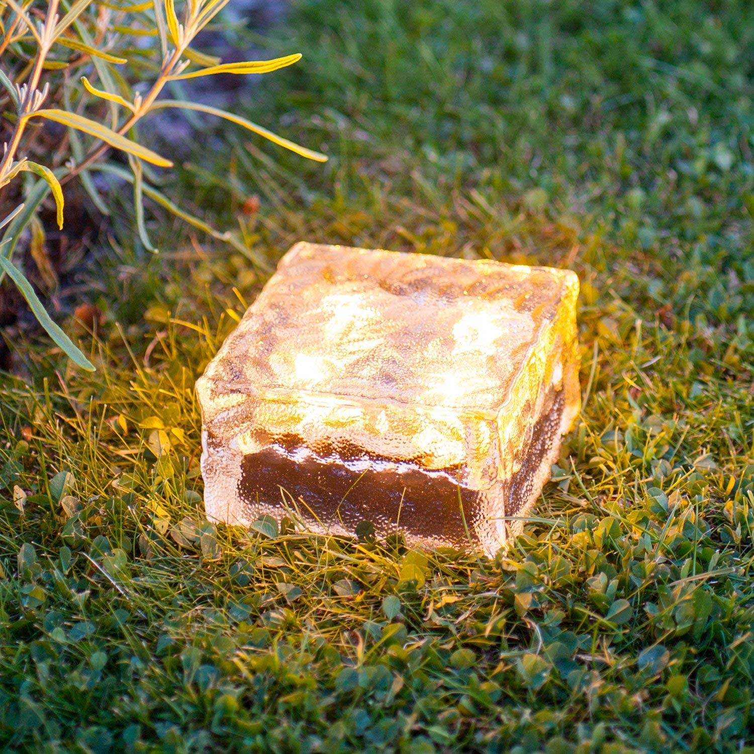 Solar Power LED Waterproof Ground Crystal