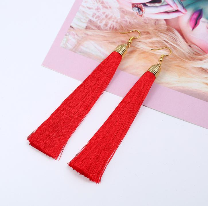Radiate Tassel Earrings
