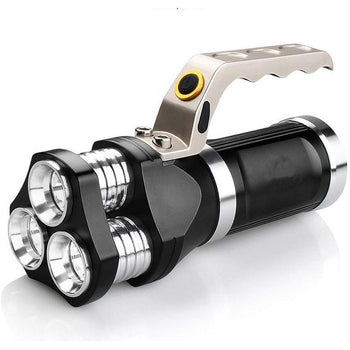 3000LM 3 x T6 Rechargeable Super Bright 3 Modes Spotlight Flashlight Torch Light
