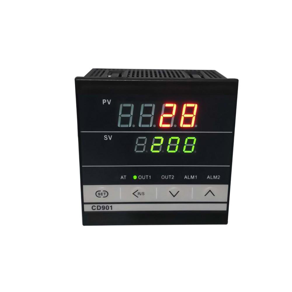 Digital PID dual display Temperature Controller Max Test Temperature 1372 Degree Thermoregulator with Alarm Relay Output CD901