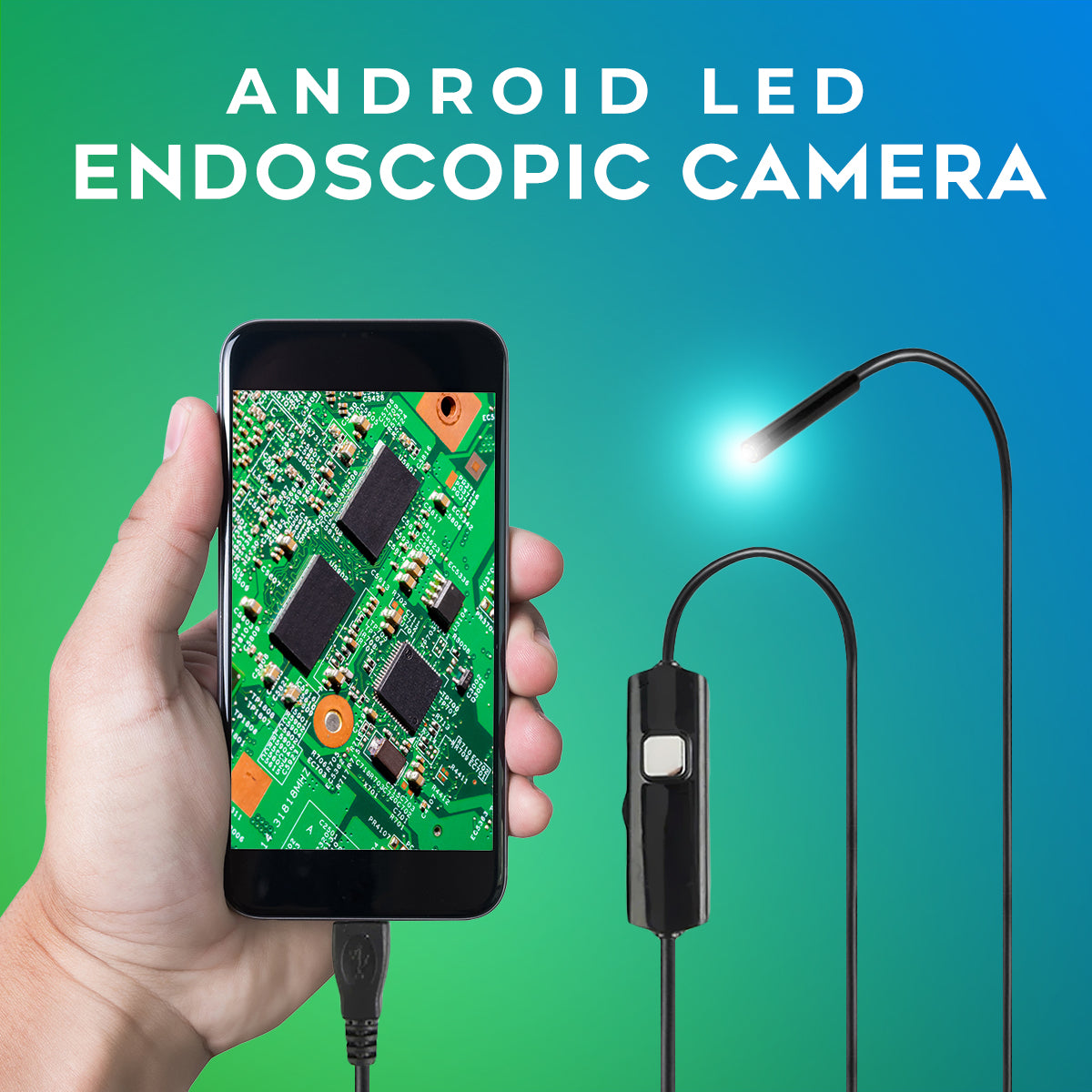 Android LED Endoscopic Camera