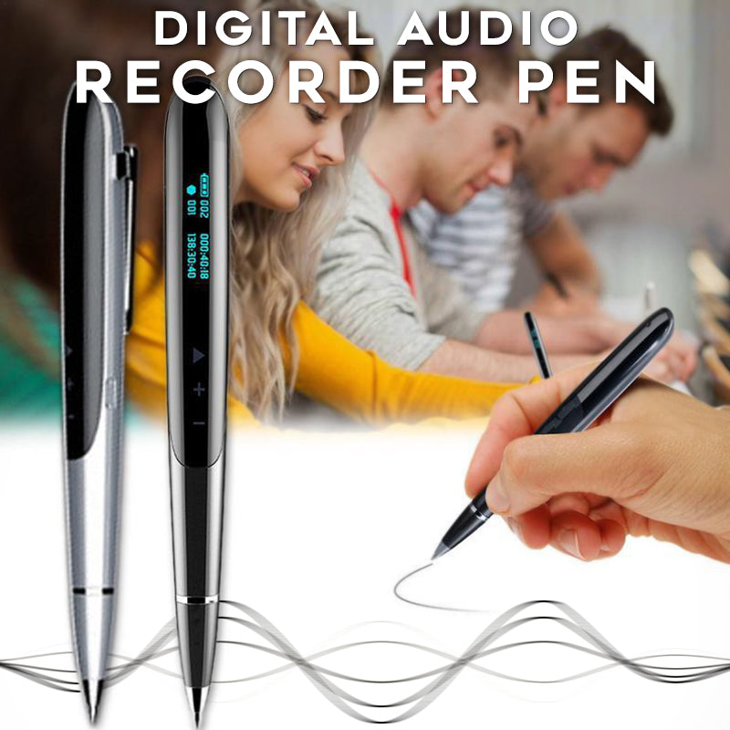 Digital Audio Recorder Pen