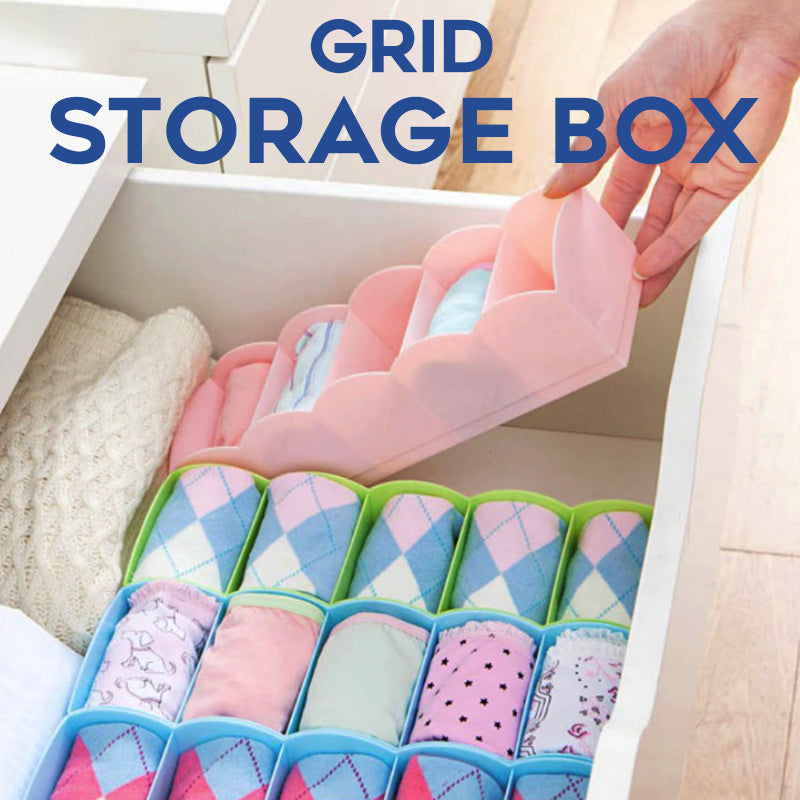 Grid Storage Box