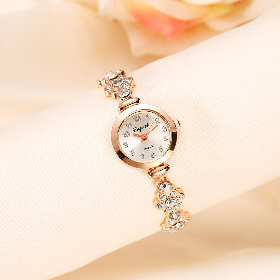 Elegant Crystal Braclet Watch