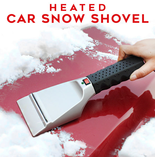 Heated Car Snow Shovel