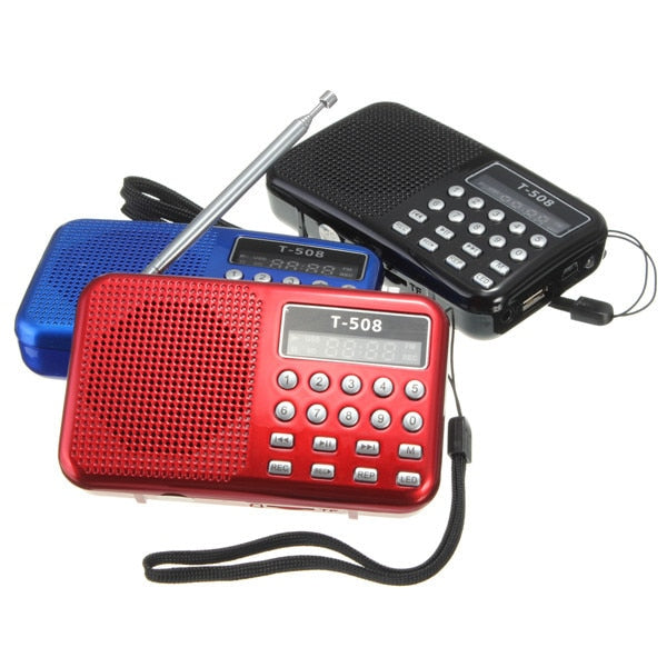 Mini Portable Radio Speaker
