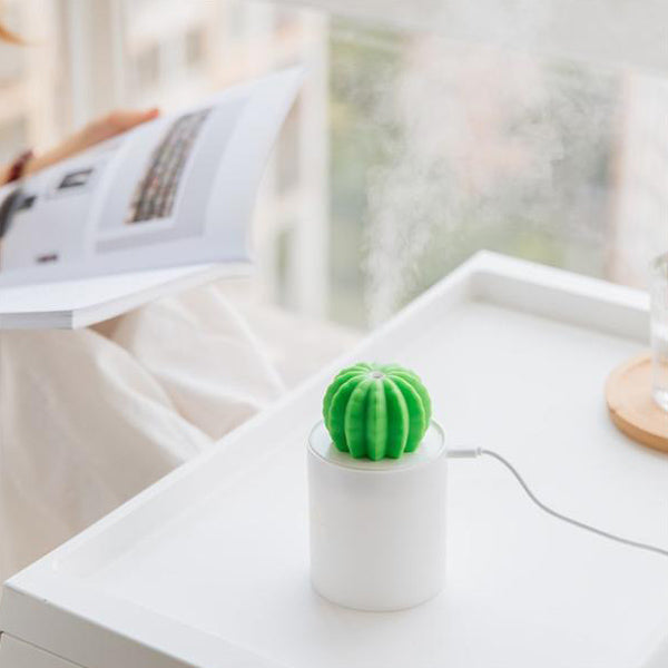 Illuminating Cactus Humidifier