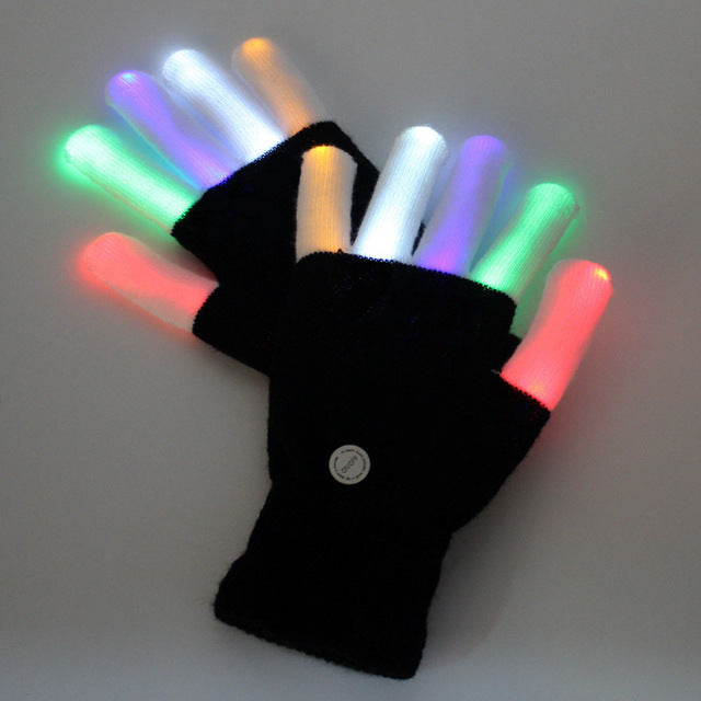 Glowing Dance Gloves